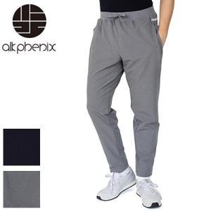 アルクフェニックス alk phenix クランクアンクルパンツ テック裏毛 crank ankle pants tech-urake PO812PA02|womanremix