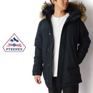 ピレネックス PYRENEX アヌシージャケット Annecy Jacket フードファーミドルレングスダウンジャケット HMK009|womanremix