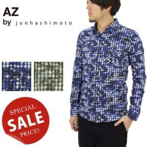 AZ by junhashimoto エーゼイバイジュンハシモト SIDE PANEL SHIRT サイドパネルシャツ S-115|womanremix
