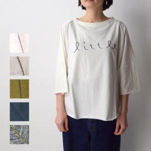 tumugu ツムグ ラフィ天竺プリントTシャツ