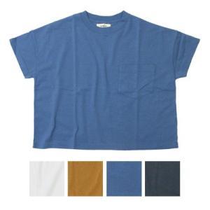 tumugu ツムグ ラスティック天竺 コットンTシャツ TC19213 womanremix
