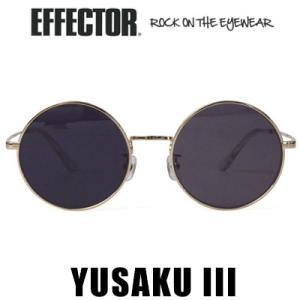 エフェクター EFFECTOR YUSAKU III ユーサク3 ブラック 松田優作 サングラス メガネ 眼鏡 アイウェア|womanremix
