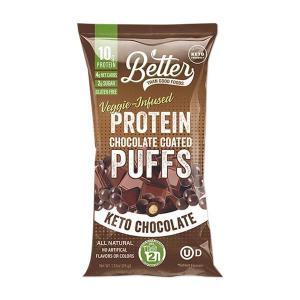[NEW] BTG プロテインコーテッドパフ ケトチョコレート味 6袋セット Better Than Good Foods(ベターザングッドフーズ) womensfitness