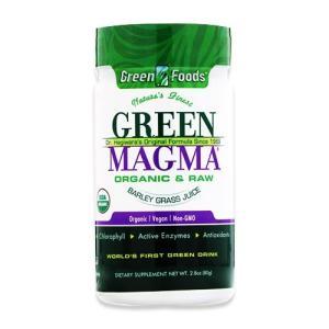 グリーンマグマ 大麦若葉ジュースパウダー 2.8oz(80g) Green Foods (グリーンフーズ) womensfitness