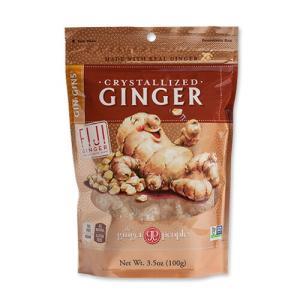 \期間限定販売/Gin Gins クリスタライズド ジンジャー 3.5oz 100g The Ginger People womensfitness