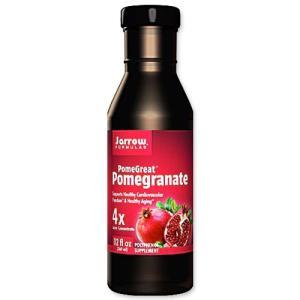 ポメグレート ザクロ 4倍濃縮果汁 12 fl oz 360 ml Jarrow FORMULAS  ジャローフォーミュラズ|womensfitness