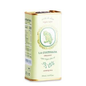 訳あり 期限間近 オーガニックアルベッキーナ エクストラヴァージンオリーブオイル 250ml(8.45floz) La Cultivada(ラ キュルティバダ)|womensfitness