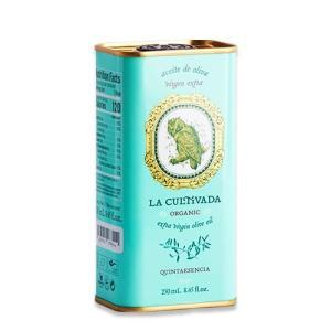 訳あり 期限間近 オーガニック キンタエセンシア エクストラヴァージンオリーブオイル 250ml(8.45 floz) La Cultivada(ラ キュルティバダ)|womensfitness