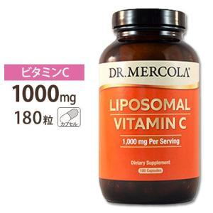 リポソームビタミンC 1000mg 180カプセル Dr.Mercola  ドクターメルコラ womensfitness