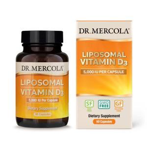 リポソーム ビタミンD3 5000IU 90粒 カプセル Dr.Mercola(ドクターメルコラ) womensfitness