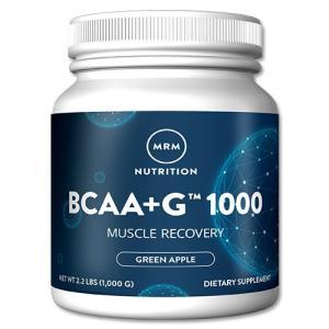 BCAA+Lグルタミン お得サイズ1kg 《154回分》 パウダー MRM グリーンアップル 分岐鎖アミノ酸 womensfitness