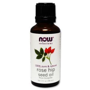 ローズヒップシードオイル 30ml 100%ピュア NOW Foods ナウフーズ|womensfitness