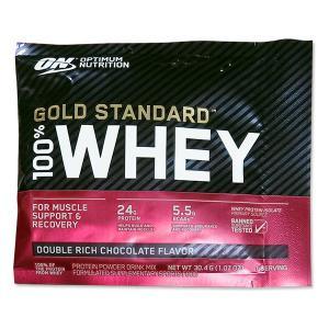 [NEW] [正規代理店] ゴールドスタンダード 100%ホエイ プロテイン ダブルリッチチョコレート味 1回分 Optimum Nutrition (オプティマムニュートリション)|womensfitness