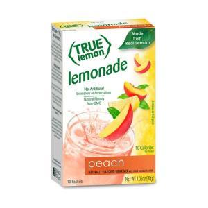 [NEW] トゥルーレモン ピーチレモネード 10袋入り 30g(1.06oz) True Citrus(トゥルーシトラス)|womensfitness