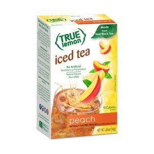 [NEW] トゥルーレモン ピーチアイスティー 6袋入り 18g(0.63oz) True Citrus(トゥルーシトラス)|womensfitness