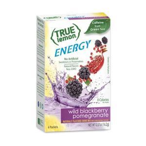 [NEW] トゥルーレモンエナジー ワイルドブラックベリーザクロ 6袋入り 16.2g(0.57oz) True Citrus(トゥルーシトラス)|womensfitness