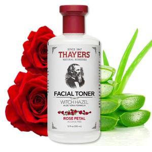 Thayers セイヤーズ 化粧水 ウィッチヘーゼル ローズペタル 355 ml アロエベラ成分 アルコールフリー|womensfitness