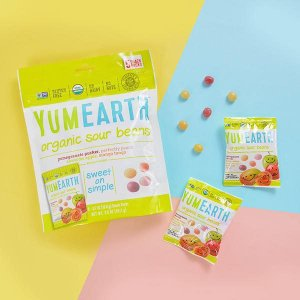 YumEarth サワージェリービーンズ スナックパック 5袋 各20 g|womensfitness