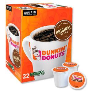 [NEW] キューリグ Kカップ オリジナルブレンドコーヒー 22個入り 各0.37oz (約10.5g) Dunkin' Donuts (ダンキンドーナツ)|womensfitness