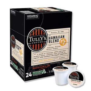 [NEW] キューリグ Kカップ ハワイアンブレンド 24個入り 各0.4oz (約11.4g) Tully's Coffee (タリーズコーヒー)|womensfitness