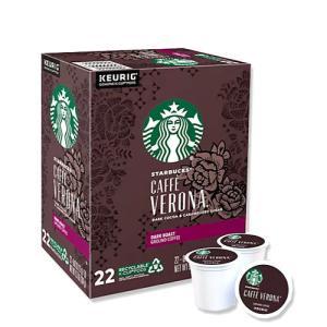 [NEW] キューリグ Kカップ カフェベロナ ダークコーヒー 22個入り 各0.42oz (約12g) Starbucks (スターバックス)|womensfitness
