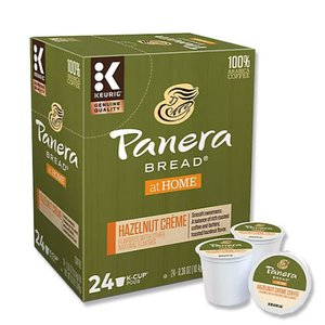 [NEW] キューリグ Kカップ ヘーゼルナッツクリームコーヒー 24個入り 各0.36oz (約10.4g) Panera Bread (パネラブレッド)|womensfitness