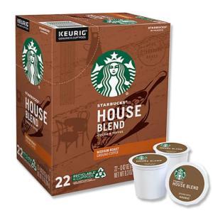 [NEW] キューリグ Kカップ ハウスブレンドコーヒー 22個入り 各0.42oz (約12g) Starbucks (スターバックス)|womensfitness