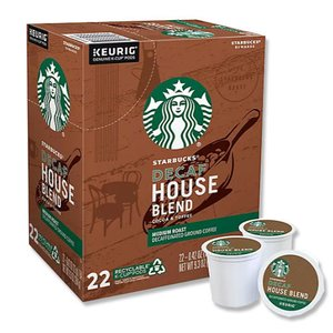[NEW] キューリグ Kカップ ハウスブレンドコーヒー デカフェタイプ 22個入り 各0.42oz (約12g) Starbucks (スターバックス)|womensfitness