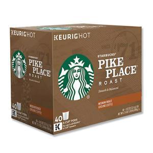 [NEW] キューリグ Kカップ パイクプレイスコーヒー バリューパック 40個入り 各0.43oz (約12.4g) Starbucks (スターバックス)|womensfitness