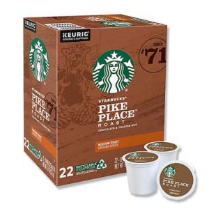 [NEW] キューリグ Kカップ パイクプレイスコーヒー 22個入り 各0.44oz (約12.5g) Starbucks (スターバックス)|womensfitness