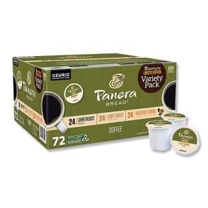 [NEW] キューリグ Kカップ コーヒー バラエティパック 72個入り Panera Bread (パネラブレッド)|womensfitness