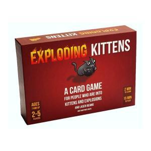 最大10人用カードゲーム Exploding Kittens(エクスプローディング・キトゥンズ)|womensfitness