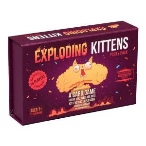 2〜5人用カードゲーム Exploding Kittens(エクスプローディング・キトゥンズ)|womensfitness