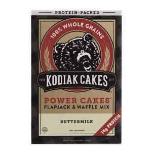 Kodiak Cakes パンケーキミックス パワーケーキ フラップジャック&ワッフルミックス バターミルク 567g 20oz|womensfitness