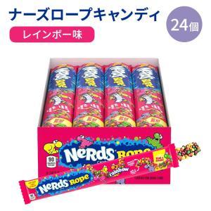 ナーズロープレインボーキャンディー 26g(0.9oz)24個入り Nerds Rope(ナーズロープ)|womensfitness