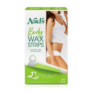 Nad's Body 脱毛ワックステープ 24枚入 オールスキンタイプ womensfitness
