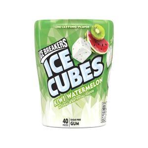 アイスキューブス キシリトールガム シュガーフリー キウイ ウォーターメロン味 40粒 Ice Breakers (アイスブレイカーズ)|womensfitness