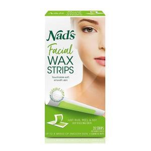 Nad's Body 顔用脱毛ワックステープ 20枚入 オールスキンタイプ womensfitness