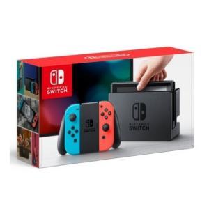 新品 Nintendo Switch ニンテンドースイッチ Joy-Con (L) ネオンブルー/ (R) ネオンレッド 「キャンセル不可」|wonder-bookstore