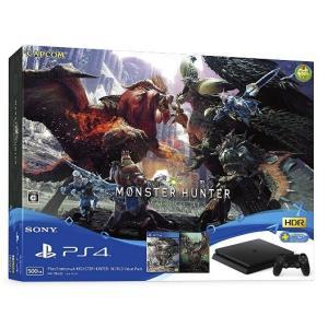 PlayStation 4(プレイーステーション4) MONSTER HUNTER:WORLD Value Pack「新品」「キャンセル不可」|wonder-bookstore