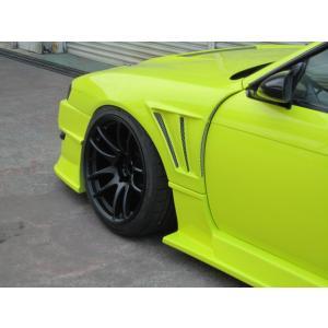 GLAREエアロ  GT・フロントワイドフェンダー 30mm  S14 シルビア 後期 (S14 SILVIA MC/後) 用