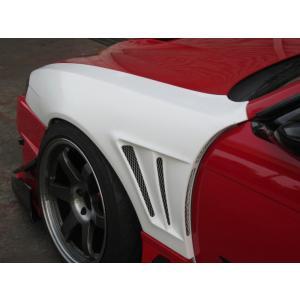 GLAREエアロ  GT・フロントワイドフェンダー 50mm  S14 シルビア 後期 (S14 SILVIA MC/後) 用