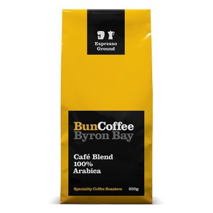 レインフォレストアライアンス認証農園コーヒー 中煎り 豆 バンコーヒー  カフェブレンド 250g |wonderfuroom
