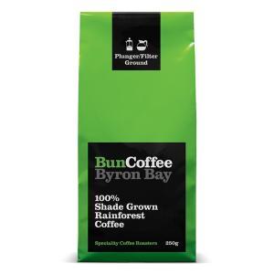 レインフォレストアライアンス認証農園コーヒー 中深煎り 豆 バンコーヒー  苦み 酸味 シェイドグロウンレインフォレスト 250g |wonderfuroom
