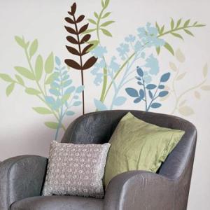 ウォールステッカー 植物 花 葉 マルチブランチ|wonderfuroom