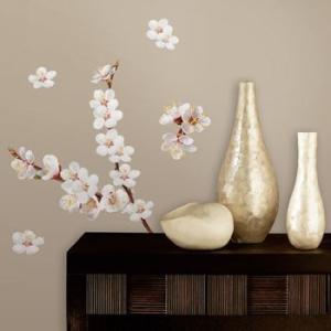 ウォールステッカー 桜 植物 花 春 チェリーブロッサムブランチ|wonderfuroom