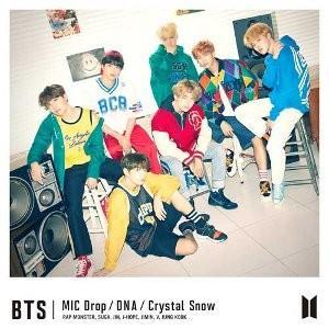【4形態同時購入先着特典付】BTS (防弾少年団)/MIC Drop/DNA/Crystal Snow<CD>(4形態まとめ買い)[Z-6805]20171206|wondergoo