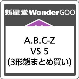 【先着特典付】A.B.C-Z/VS 5<CD>(3形態まとめ買い)[Z-7224・7225・7226]20180523 wondergoo