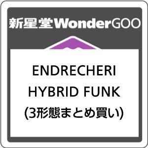 【先着特典付】ENDRECHERI/HYBRID FUNK<CD>(3形態まとめ買い)[Z-7229・7230・7231]20180502|wondergoo