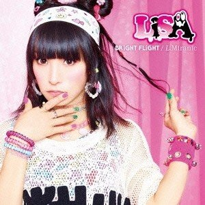 LiSA/BRiGHT FLiGHT/L.Miranic<CD>(通常盤)20140917|wondergoo